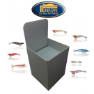 LINEAEFFE BULK SQUID JIGS (100 Squid Jigs - with Retail Display Bin)
